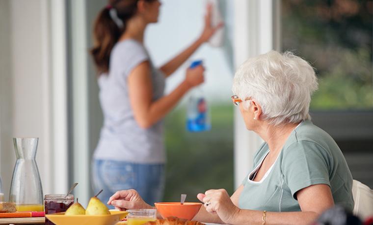 Aide à domicile - Aide à la personne - Personne âgée - Proxidom Services